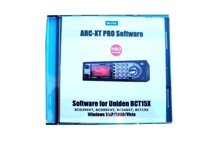 BUTEL ARC-XT PRO oprogramowanie do skanerów Uniden BCT15X
