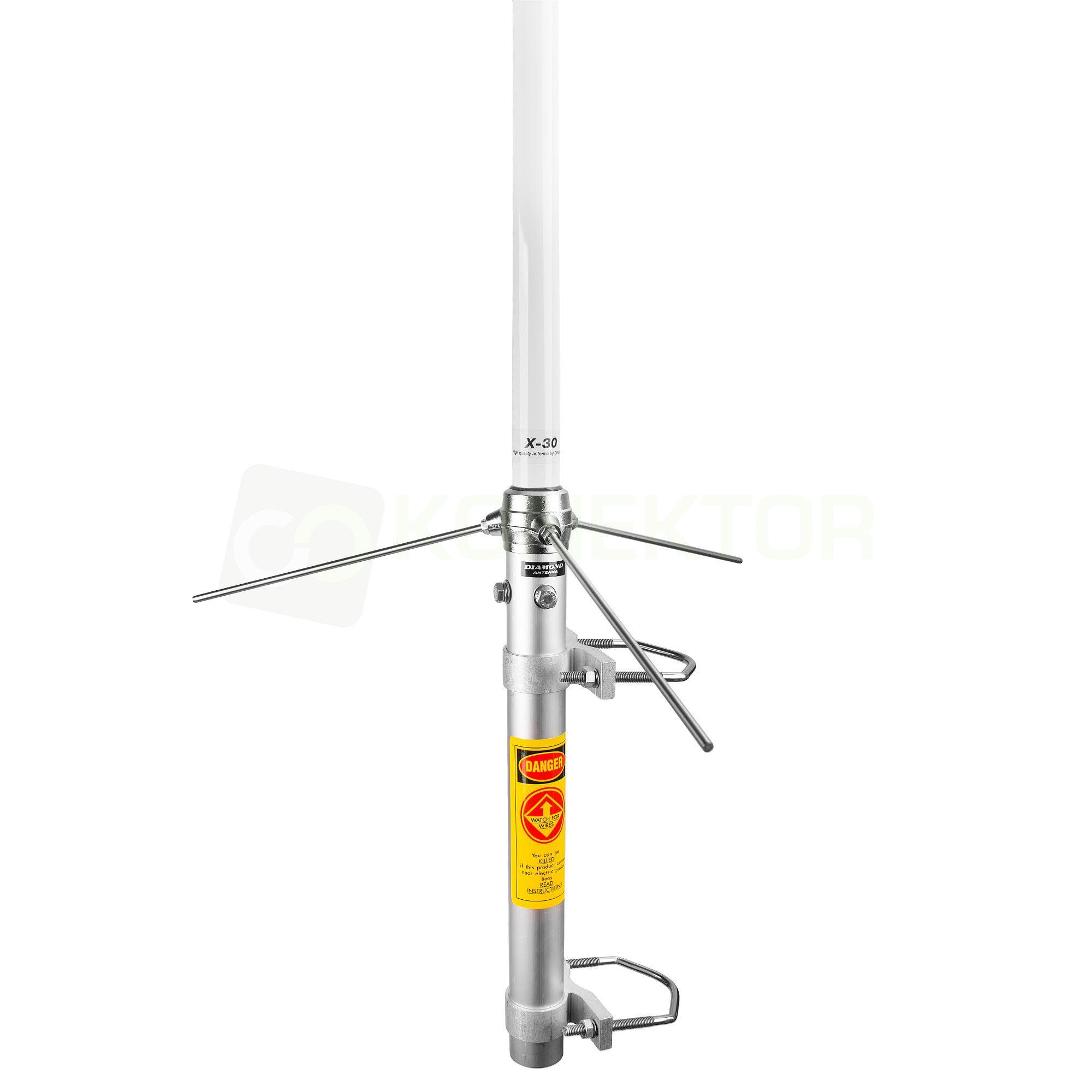 Diamond x30n antena pionowa 2m 70cm d ugo 130cm for Ecksofa 2m x 2m