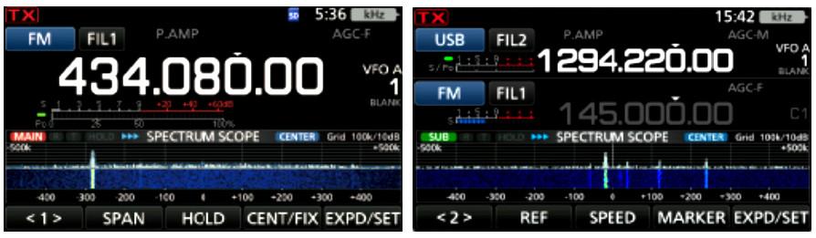 Icom IC-9700 radiotelefon VHF/UHF + 23cm - moc do 100W AM/FM